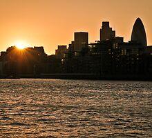 Urban Sunset by Alex Chartonas
