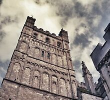 Exeter Cathedral by babibell