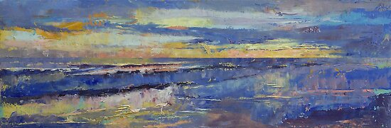 Costa Rica Sunset by Michael Creese