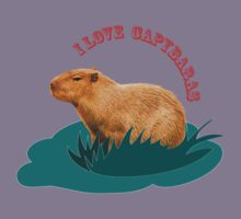 I love capybaras Kids Clothes
