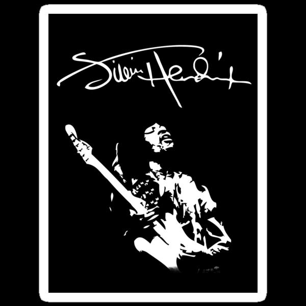 Jimi Hendrix by phykix