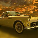 '55 T-Bird - If God Owned A Classic Car.... by Mike Capone