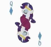 Rarity- Queen of Diamonds by rozasupreme