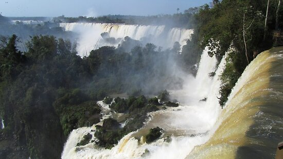 "Iguazu, Or, ""Poor Niagara"" by SlenkDee"