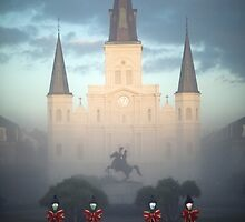 St Louis Cathedral by Alfonso Bresciani