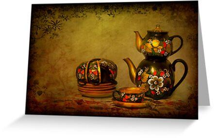 Russian Tea Room by Evelina Kremsdorf