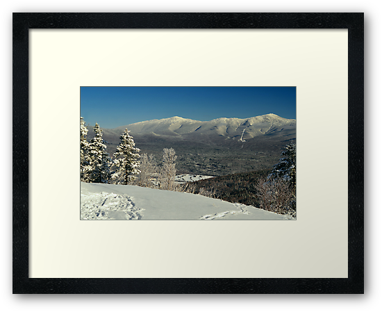 View to Mount Washington in New Hampshire 2 by Anton Oparin