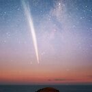 Morning Comet meets the Cape by Alex Cherney