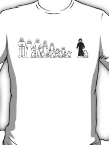 Stark Family Vehicle Sticker (Game of Thrones Shirt) T-Shirt