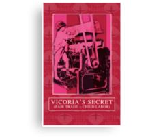 VICTORIA'S SECRET Canvas Print