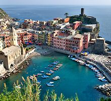 Vernazza, Cinque Terre by TLCPhotography
