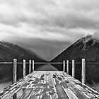 Nelson Lakes black & white by timboss81