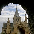 Looking across to Rochester Cathedral by tunna