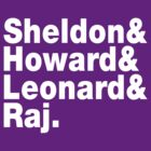 Sheldon&amp;Howard&amp;Leonard&amp;Raj by nimbusnought