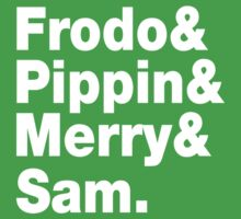 Frodo&Merry&Pippin&Sam. Kids Clothes