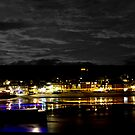 #St Ives Christmas Lights by Brian Roscorla