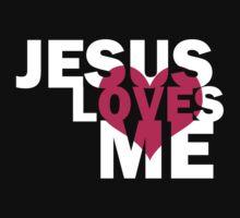 Jesus loves me by illustratorjr