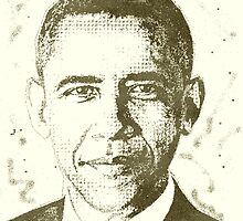 BARACK H. OBAMA by OTIS PORRITT