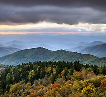Last Light on Blue Ridge Parkway - Boundless by Dave Allen