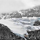 Crowfoot Glacier by Vickie Emms