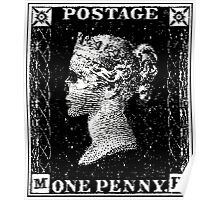 Penny Black Death Poster