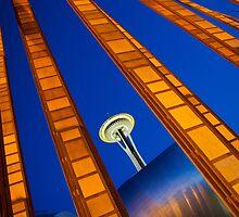 Beautiful Seattle by Inge Johnsson