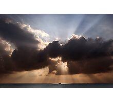 Divine Sunset  Photographic Print
