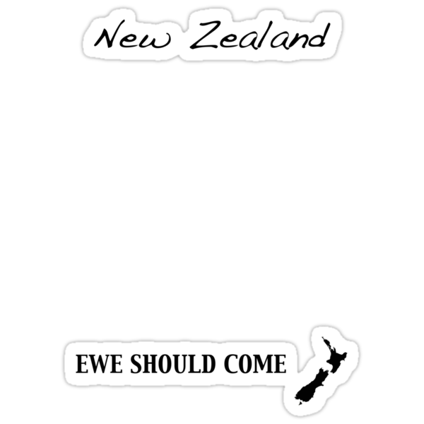 New Zealand - Ewe Should Come by Jonathan Hughes