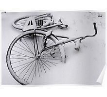 Abandoned in the snow Poster