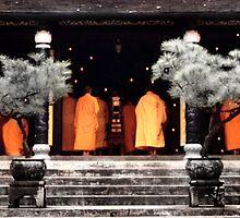 Orange Buddhism by Sam Beringer