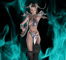 Hell`s Warrior by LoneAngel