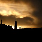 Sunrise over Edinburgh by Chris Clark