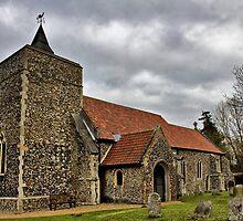 St Michael, Stratton St Michael by Darren Burroughs