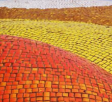 Warm Colors and White Mosaics by keem