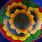 Bowl Painted by Hand - Fuente Pintada a Mano by PtoVallartaMex