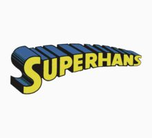 Super Hans Logo by bluedisc