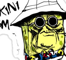 Fear and Loathing in Bikini Bottom Sticker