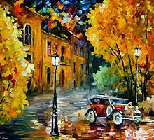 CLASSIC CAR - LEONID AFREMOV by Leonid  Afremov