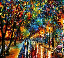 WHEN DREAMS COME TRUE - LEONID AFREMOV by Leonid  Afremov