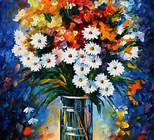 FASCINATION - LEONID AFREMOV by Leonid  Afremov