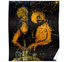 drunken couple Poster