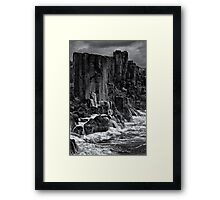 The Bombo Cascades Framed Print
