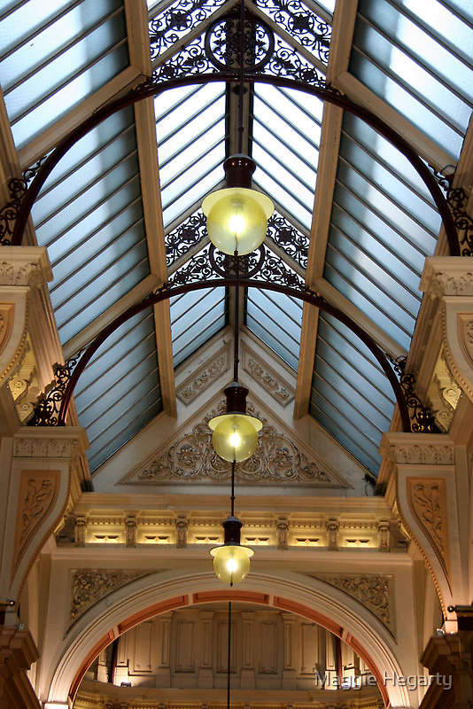Victorian skylight by Maggie Hegarty
