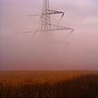 Pylon in Fog by Epicurian