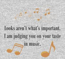Your Taste In Music by Sherene Clow