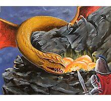 Dragon Nest Raider Photographic Print