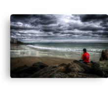 Seaside Music Canvas Print