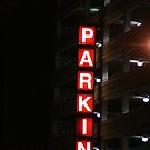 Lighted Parking by D.M. Mucha