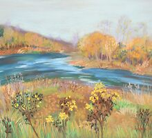Riverwalk, November  by Susan Duffey