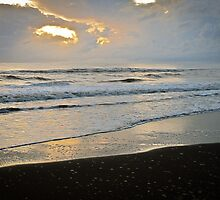 Tortuguero sunrise - Costa Rica by Robert Kelch, M.D.